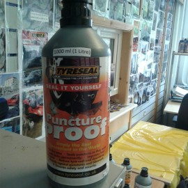 Tyreseal On Road or Off Road SIY Bottles 1000 ML